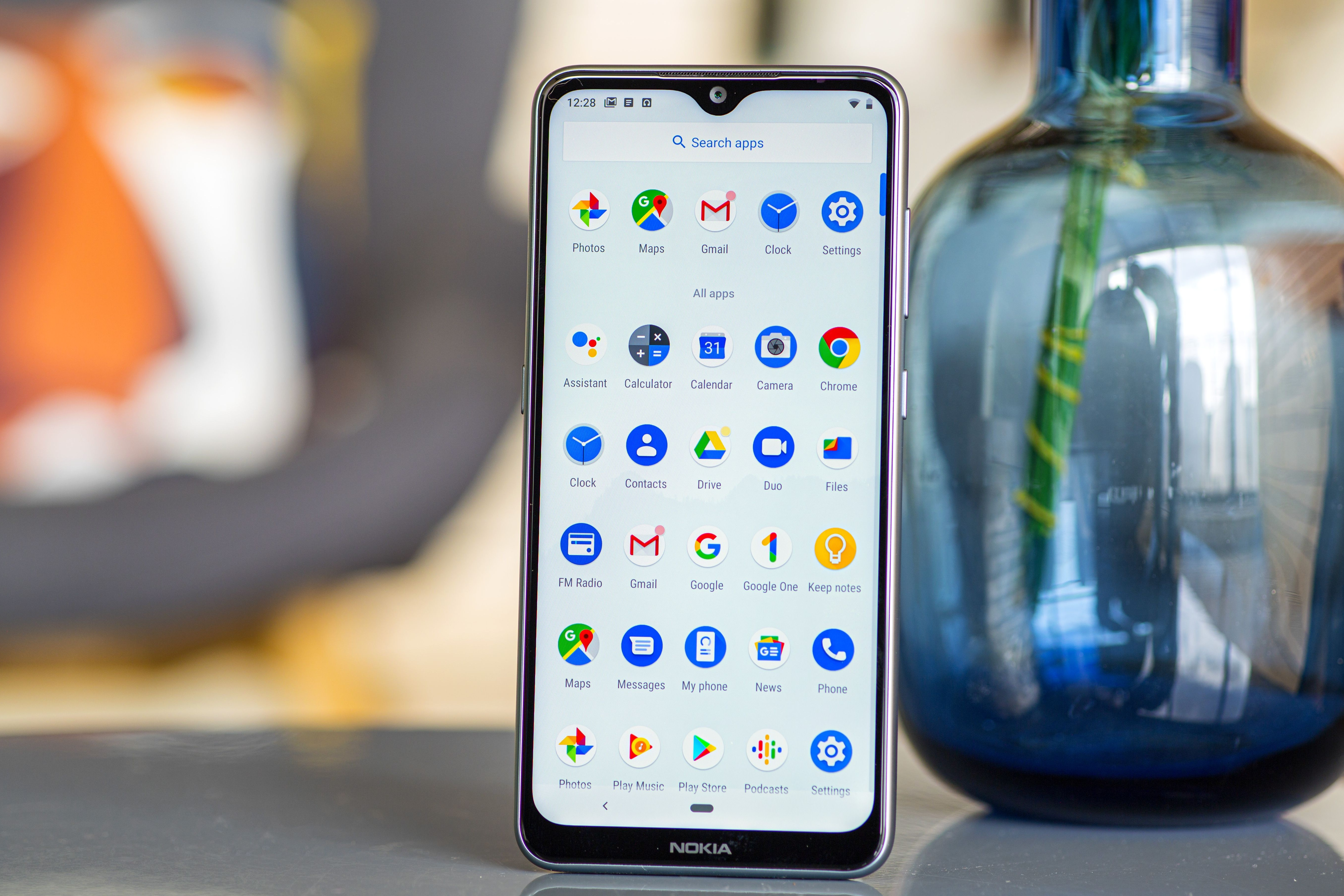 The Nokia 6.2 has a classic \