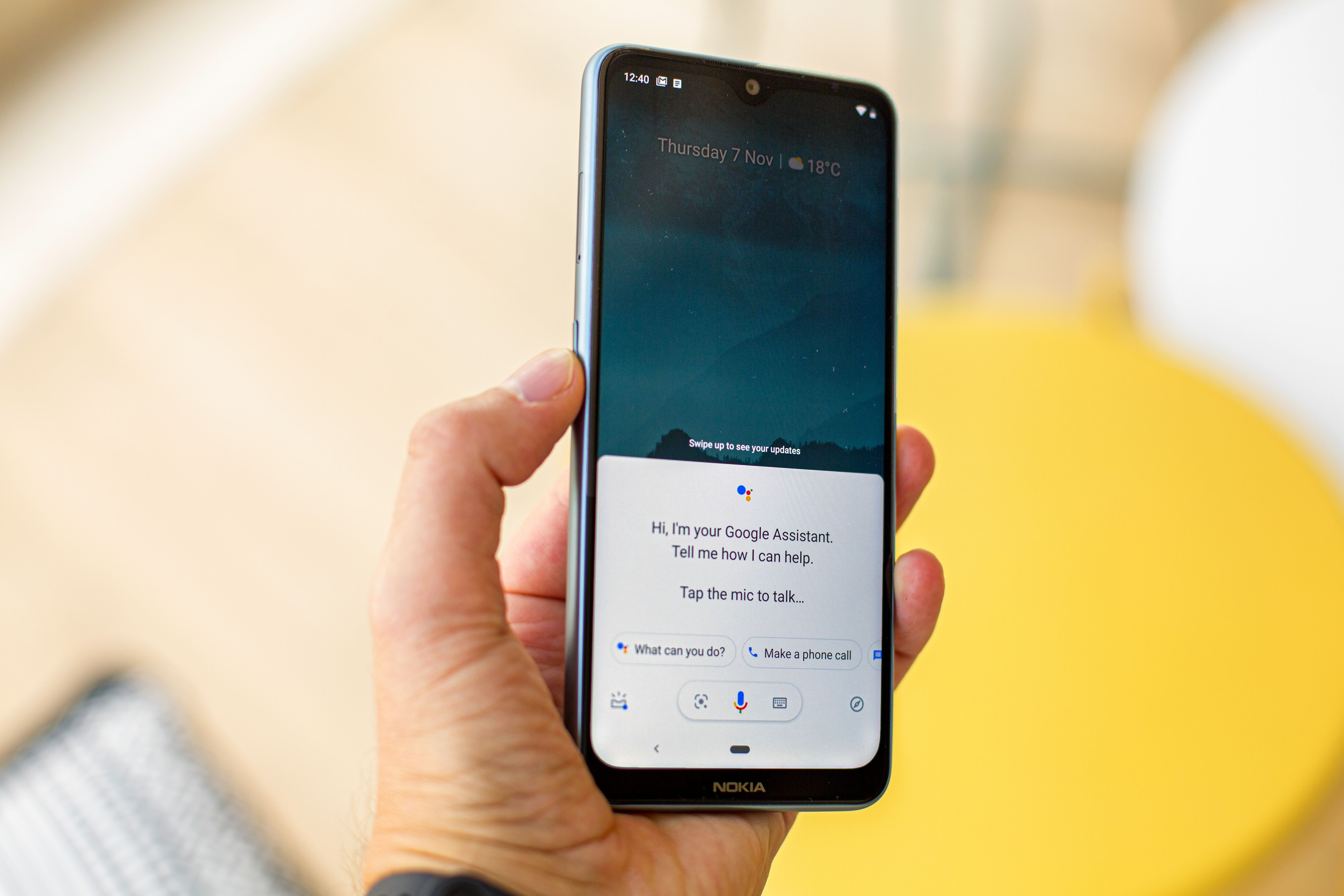 Clean Android One software and a dedicated Google Assistant button