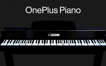 OnePlus made a piano using 17 units of 7T Pro