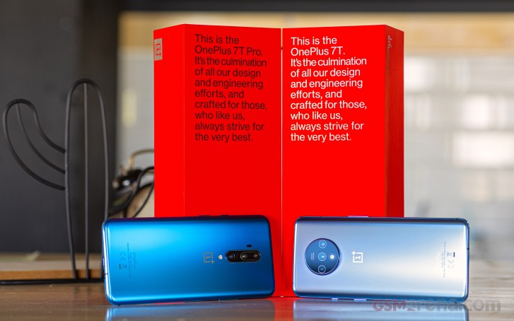 OnePlus 7T Pro and OnePlus 7T