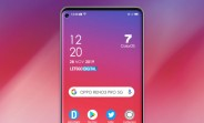 Here's a full frontal render of the Oppo Reno3 Pro 5G