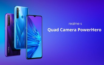 Realme 5 arrives in Europe for €169