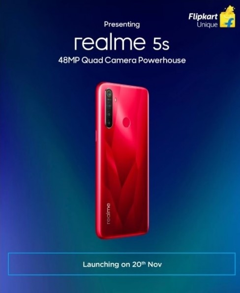 Realme 5s будет оснащен Qualcomm Snapdragon 665