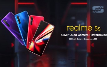 Realme 5s will be powered by the Snapdragon 665 SoC