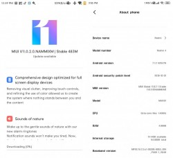 MIUI 11 on the Redmi 4 screenshots