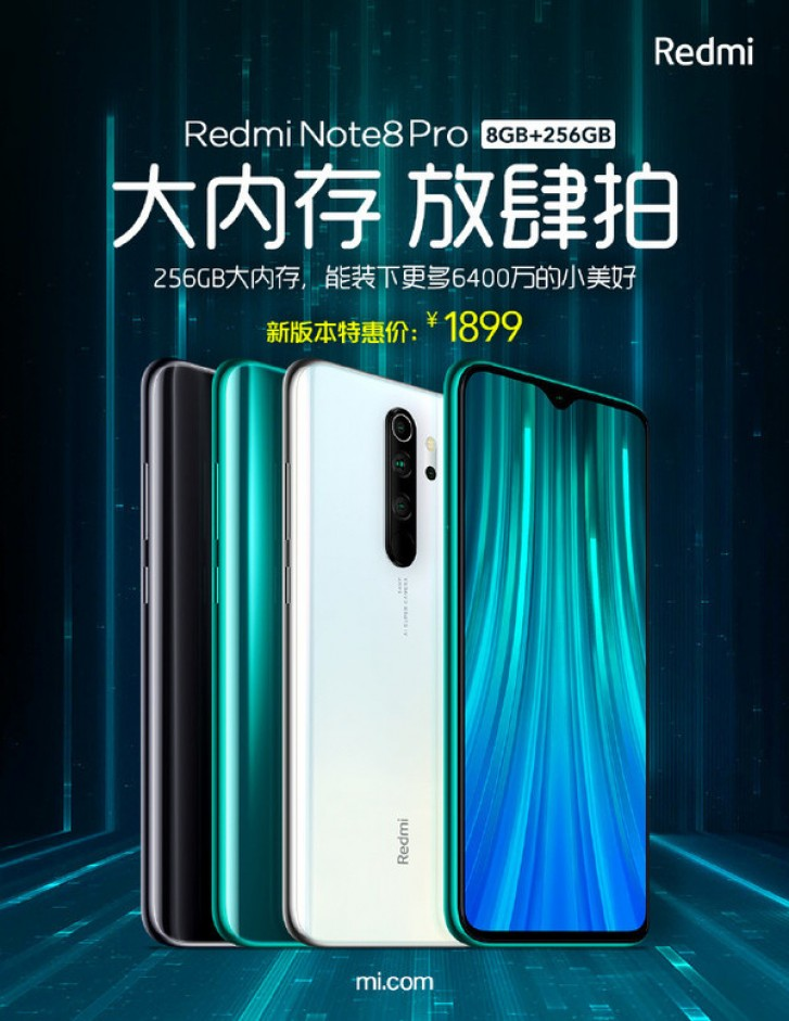 Redmi Note 8 Pro arrives in new 8 GB + 256 GB variant