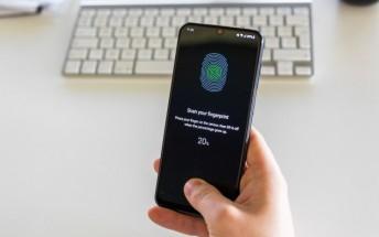 Samsung Galaxy A50 firmware update causing fingerprint registration bug