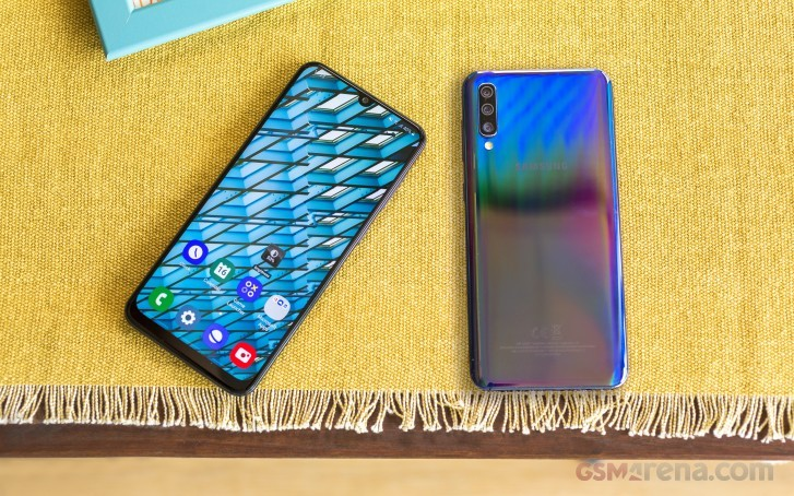 Samsung Galaxy A50 firmware update causing fingerprint registration bug