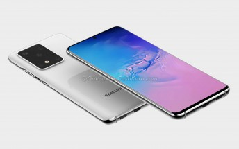 Samsung Galaxy S11+ renders reveal punch hole display and a huge camera bump