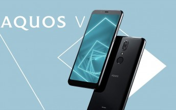 Sharp AQUOS V goes official with Snapdragon 835