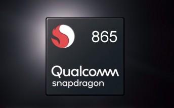 Snapdragon 865 specs leak