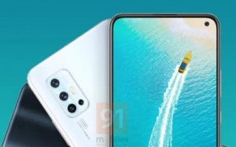 Indian vivo V17 to feature a punch hole display and L-shaped quad camera