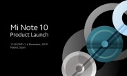 Watch the Xiaomi Mi Note 10 announcement live