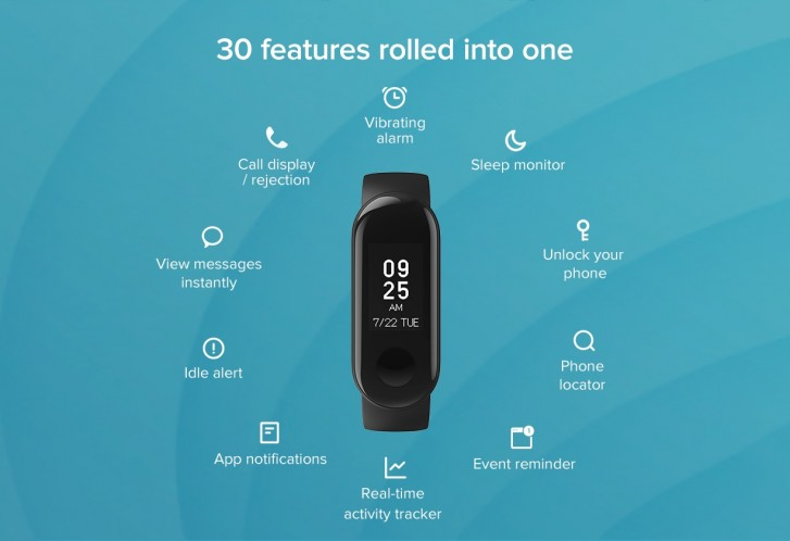 Xiaomi Mi Band 3i arrives in India with no heart-rate tracking, super low price