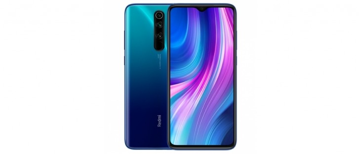 Xiaomi launches a Blue version of Redmi Note 8 Pro in Taiwan