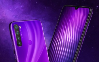 Xiaomi Redmi Note 8 shines in another color - Nebula Purple