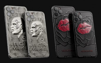 Mike Tyson and Marilyn Monroe iPhone 11 Pro editions? Caviar says sure