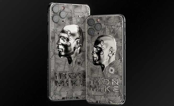 Caviar now offers Mike Tyson and Marilyn Monroe limited edition iPhone 11 Pro units