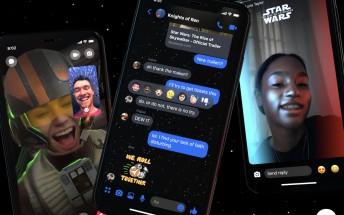 Facebook Messenger adds new Star Wars dark theme