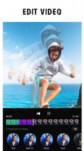 Best app (Users' Choice): Video Editor - Glitch Video Effects