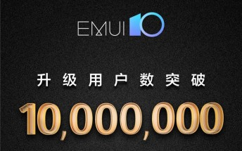 EMUI 10 now running on over 10 million devices worldwide