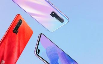 Huawei nova 6 trio is here: punch hole displays, 40W fast charging