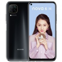Huawei nova 6 SE in Magic Night Black color