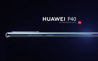 Huawei P40's first render leaks, to feature a curved 6.57