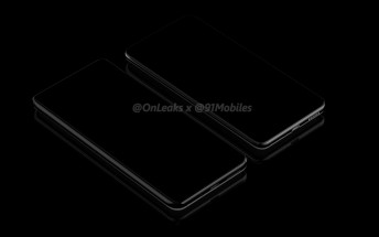 Huawei P40 and P40 Pro leak in a bunch of dark renders