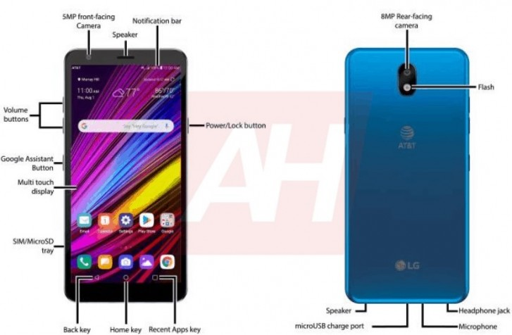 LG Neon Plus render leaks with a 2017 design