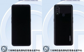 New Oppo phone with 6.5-inch screen and triple camera setup pops up on TENAA