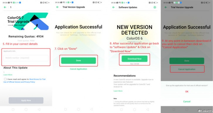 Oppo is recruiting beta testers for ColorOS 7 based on Android 10 for the F11 and F11 Pro
