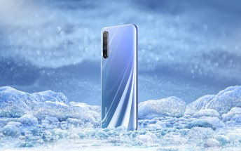Realme X50 5G appears in an official poster, live image confirms side-mounted fingerprint reader