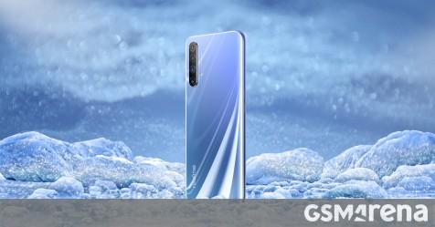 Realme X50 5G appears in an official poster, live image confirms side-mounted fingerprint reader - GSMArena.com news - GSMArena.com