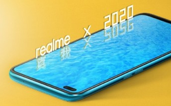 Latest official poster shows off the front of the Realme X50 5G
