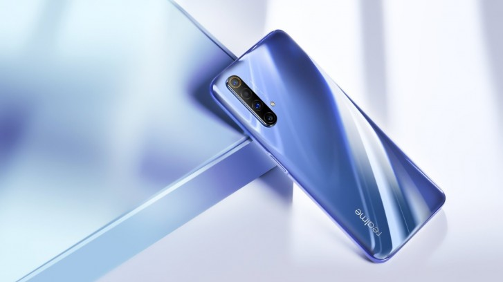 Realme X50 5G official poster confirms side-mounted fingerprint reader, live image surface