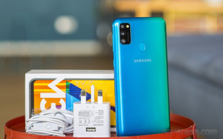 Samsung Galaxy M30s in for review