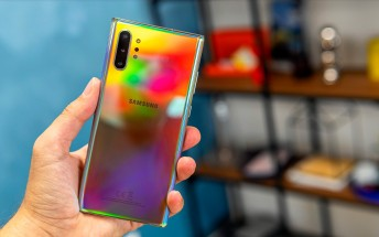 Samsung's first device to ship with Android 10 is the Galaxy Note10+ 5G for T-Mobile