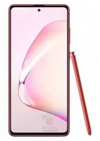 Samsung Galaxy Note10 Lite in Red