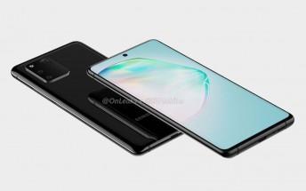 Samsung Galaxy S10 Lite user manual corroborates previous design leaks