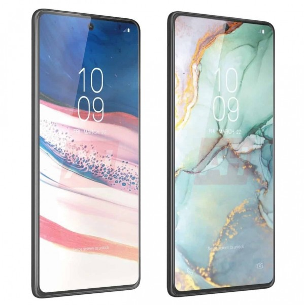 Galaxy Note10 Lite on left and Galaxy S10 Lite on right
