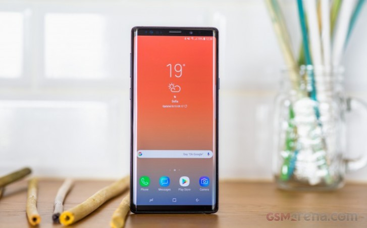 Samsung Galaxy Note9 gets fifth Android 10 beta
