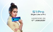 vivo S1 Pro India launch set for January 4