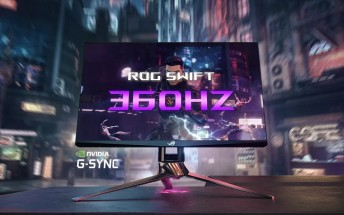 Asus announces a slew of new products, world's first 360Hz monitor in tow