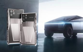 Caviar Cyberphone unveiled - a Tesla Cybertruck-inspired iPhone 11 Pro mod