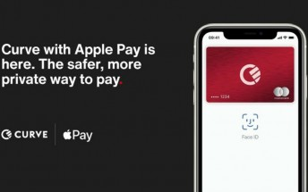 Curve gains support for Apple Pay to use with any card in Europe