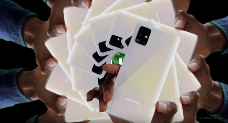 Samsung releases a trio of promo videos for the Galaxy A51 and A71