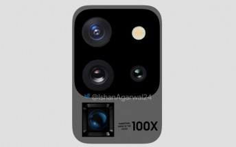 New Samsung Galaxy S20 Ultra renders update camera setup design