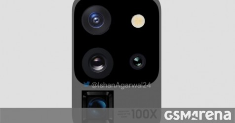 New Samsung Galaxy S20 Ultra renders update camera setup design - GSMArena.com news - GSMArena.com