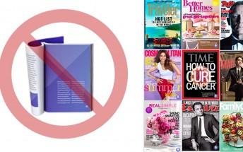Google News discontinues print-replica digital magazines